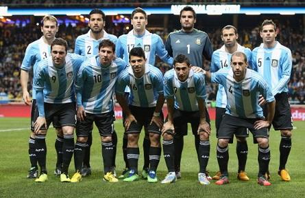 Argentiinan Jalkapallomaajoukkue